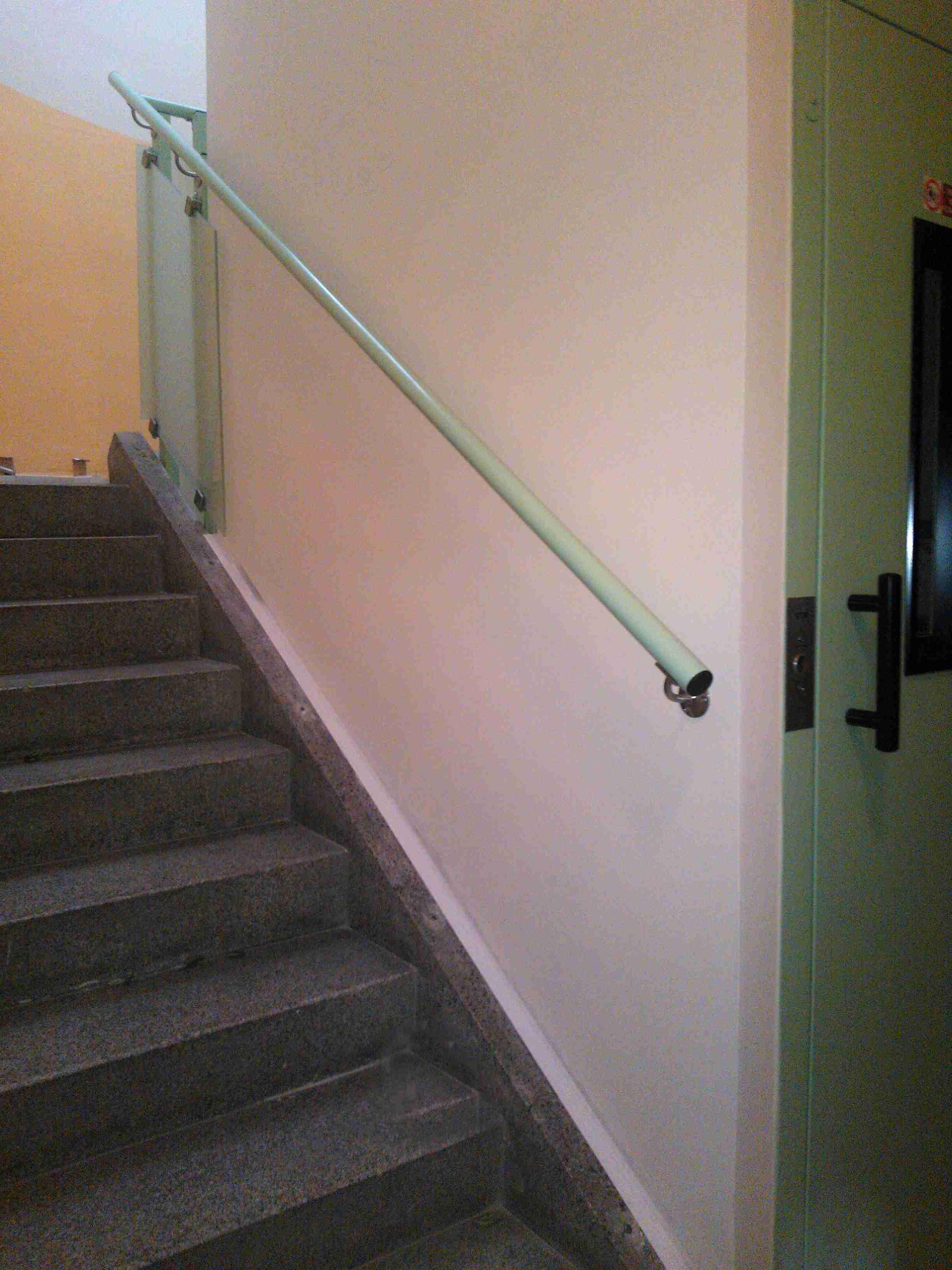 schodišťové zábradlí